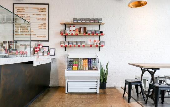 cafe retail display