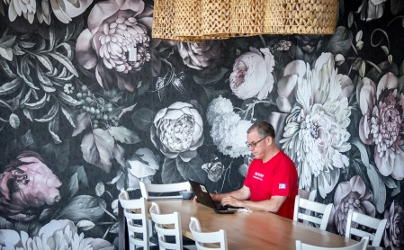 Edison Coffee Co cafe and roastery Flower Mound Texas 14