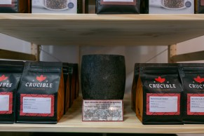 Crucible Coffee Roasters bags