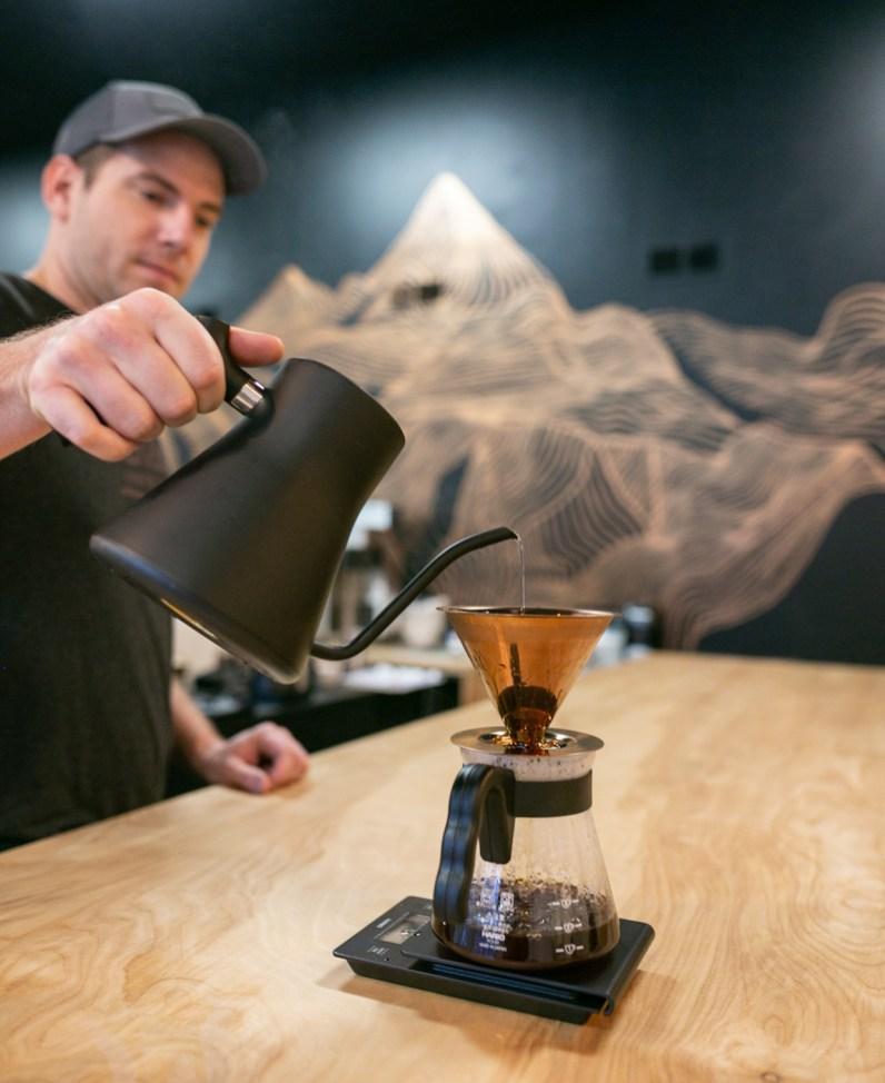 Crucible Coffee pourover