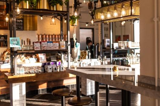 Fairgrounds coffee bar