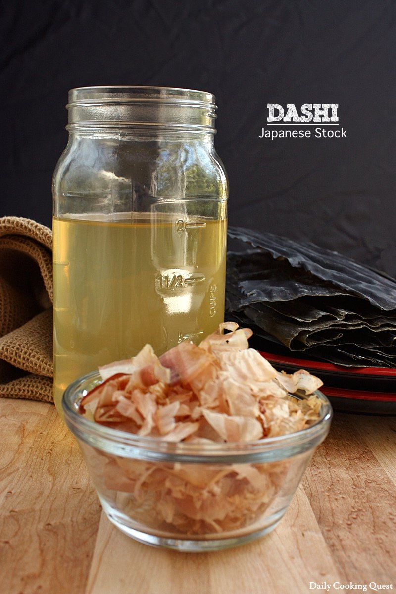 Dashi  Japanese Stock  Daily Cooking Quest