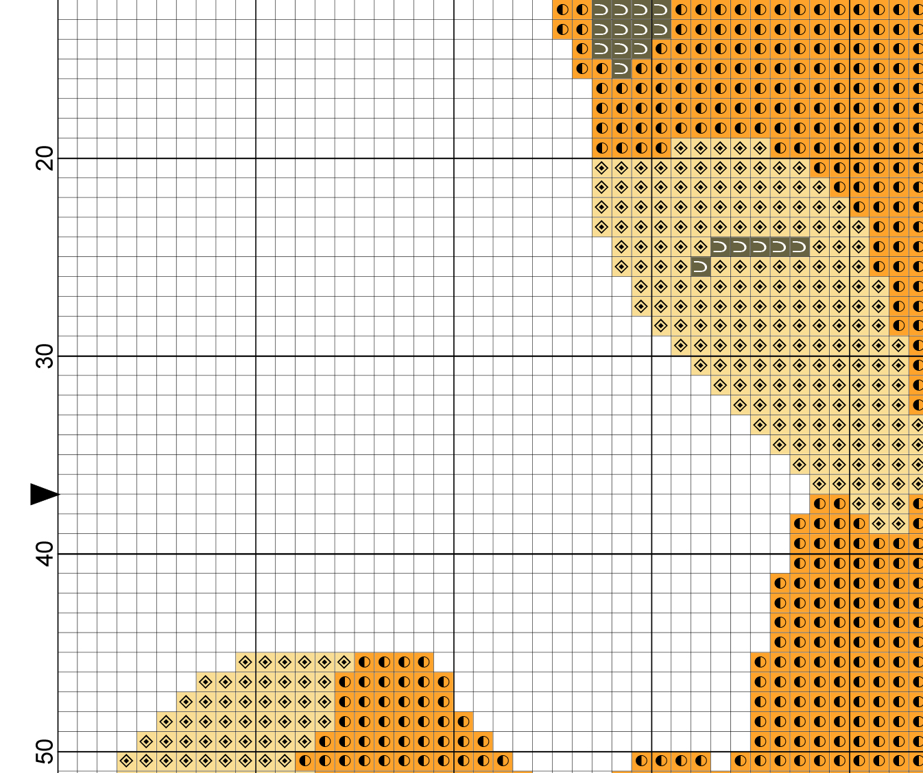 needlepoint stitches stitch diagrams carling technologies rocker switch wiring diagram red fox cross pattern  daily