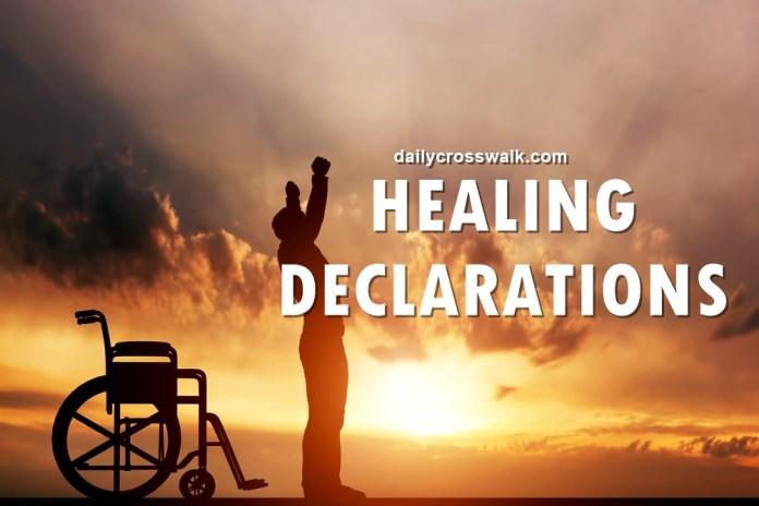 healing declarations