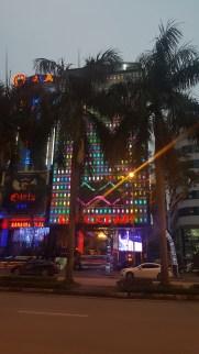 The city was full of karaoke bars