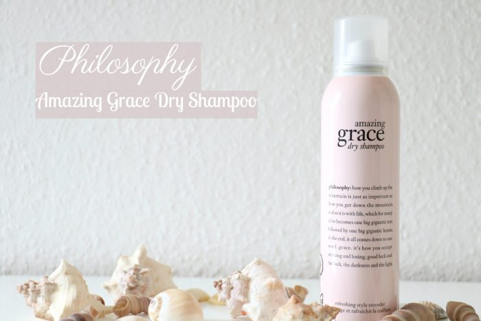 PHILOSOPHY AMAZING GRACE DRY SHAMPOO + TIP