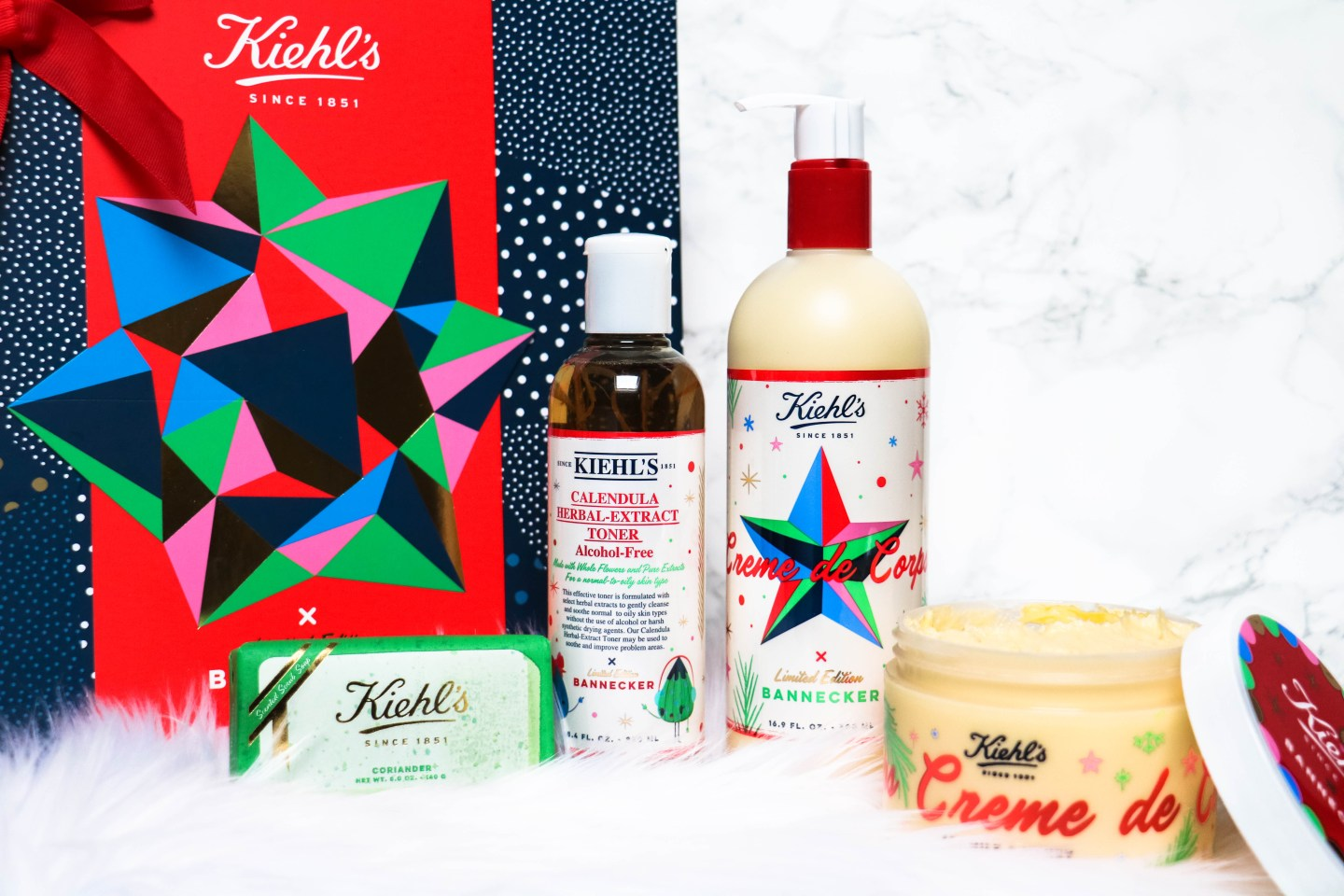 KIEHL'S X BANNECKER LIMITED EDITION + KERSTBORREL