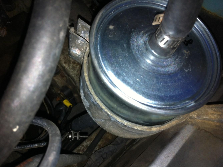 medium resolution of datsun 280z new fuel filter installed
