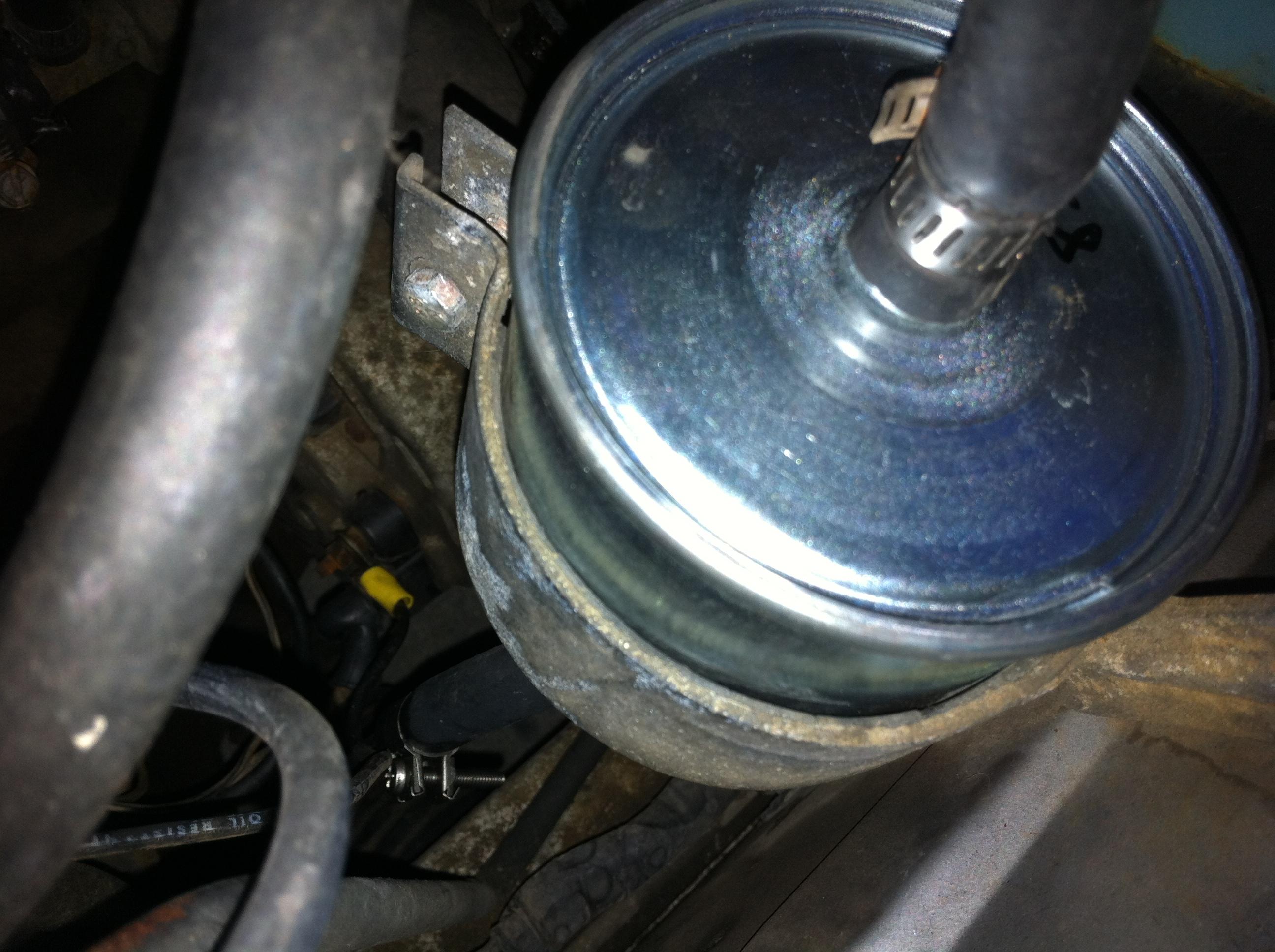 hight resolution of datsun 280z new fuel filter installed