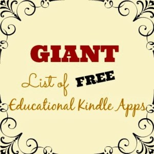 FREE Educational Apps From Amazon