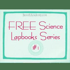 FREE Science Lapbooks Series #1