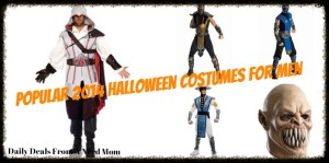 Popular 2014 Halloween Costumes for Men