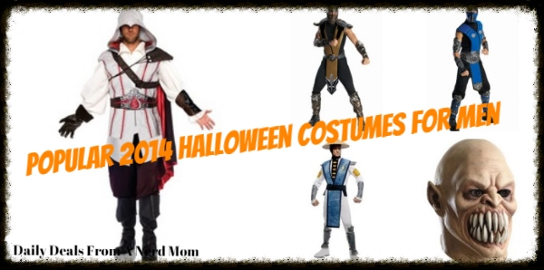 Popular 2014 Halloween Costumes for Men-collage