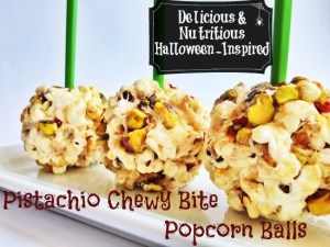 Delicious and Nutritious Halloween-Inspired Popcorn Balls