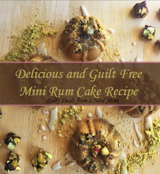 Delicious and Guilt Free Mini Rum Cake Recipe