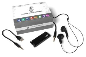 UQIQUE Mini Digital Voice Recorder Review