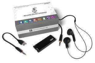 UQIQUE Mini Digital Voice Recorder Review
