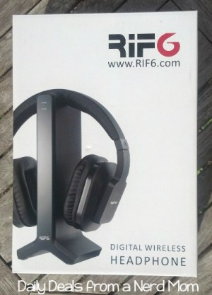 RIF6 Digital Wireless Headphones with Charging Dock Review
