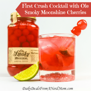 First Crush Cocktail with Ole Smoky Moonshine Cherries Recipe