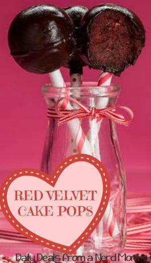 Guilt-Free Red Velvet Cake Pops Recipe