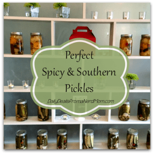 Perfect Spicy and Southern Pickles Recipe