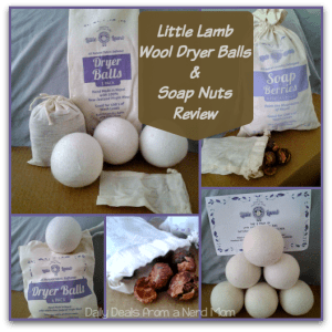 Little Lamb All-Natural Soap Nuts and Dryer Balls Review