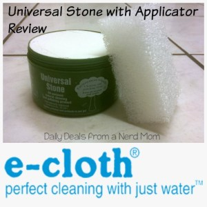 Universal Stone from e-cloth Review