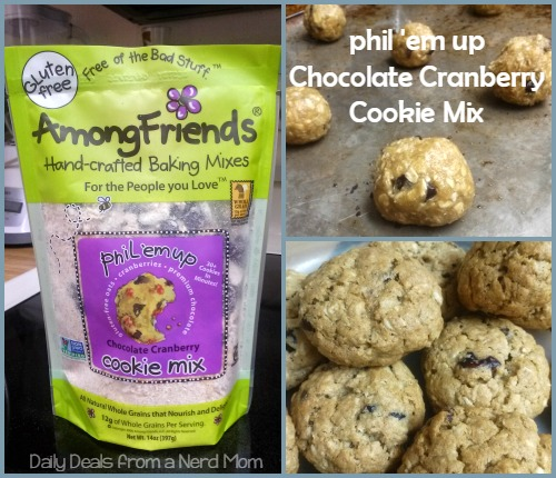 Phil'em up Chocolate Cranberry Cookie Mix