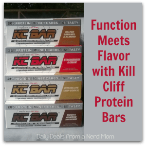 Function Meets Flavor with Kill Cliff Protein Bars