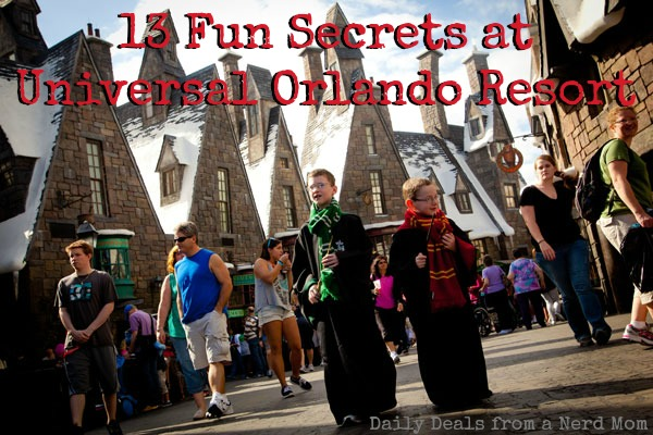 13 Fun Secrets at Universal Orlando Resort