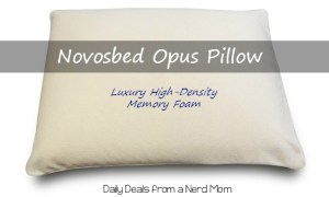 Get A More Restful Sleep with the Novosbed Opus Pillow