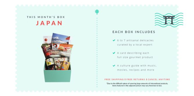Try The World: Japan Subscription Box