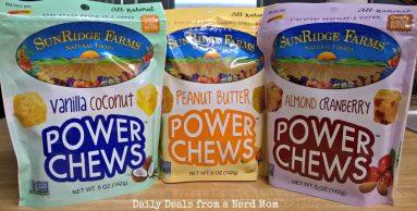 Head Back To School With SunRidge Farms Power Chews