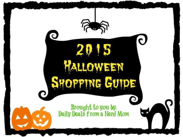 2015 Halloween Shopping Guide >> Daily Deals from a Nerd Mom