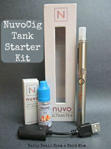NuvoCig Tank Starter Kit Review