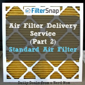 FilterSnap Air Filter Delivery Service – Standard
