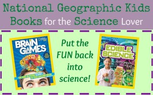 National Geographic Kids Books for the Science Lover