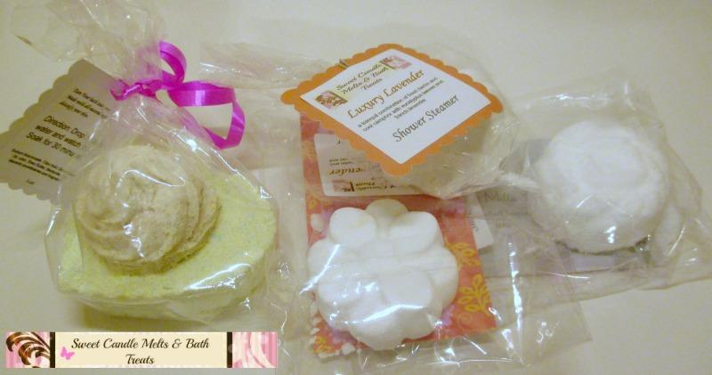 Sweet Candle Melts & Bath Treats - bath & shower bombs
