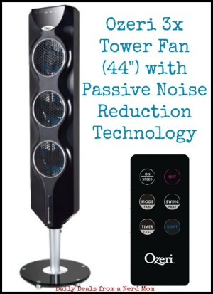 Stay Cool with the Ozeri 3x Tower Fan