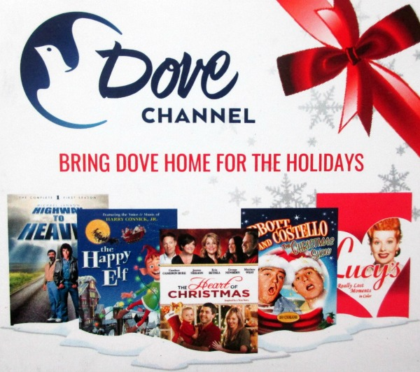 Bring Dove Channel Home for the Holidays