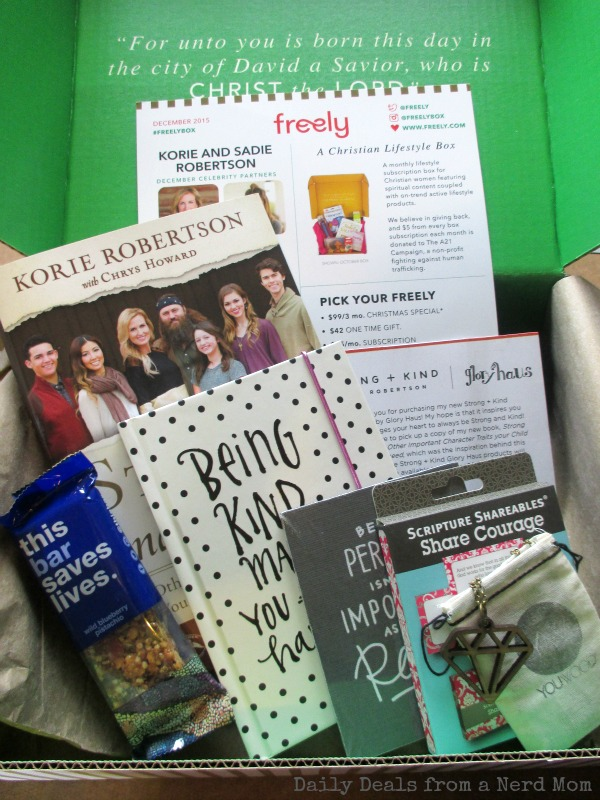 Freely Subscription Box Curated by DUCK DYNASTY's Korie & Sadie Robertson