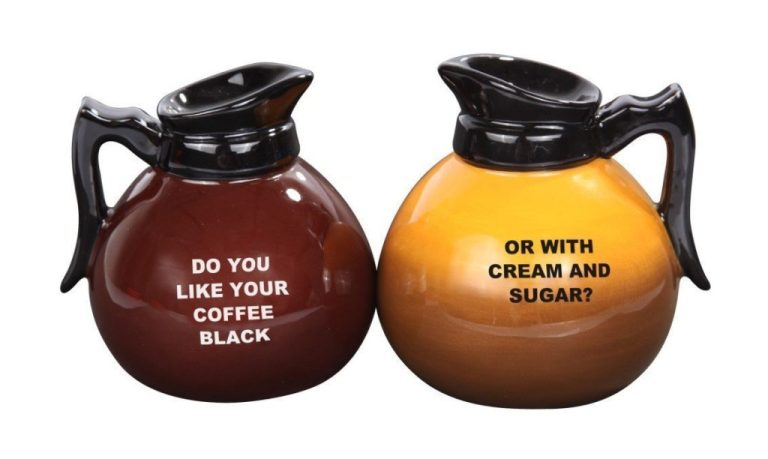 Coffee Pot Salt & Pepper Shakers