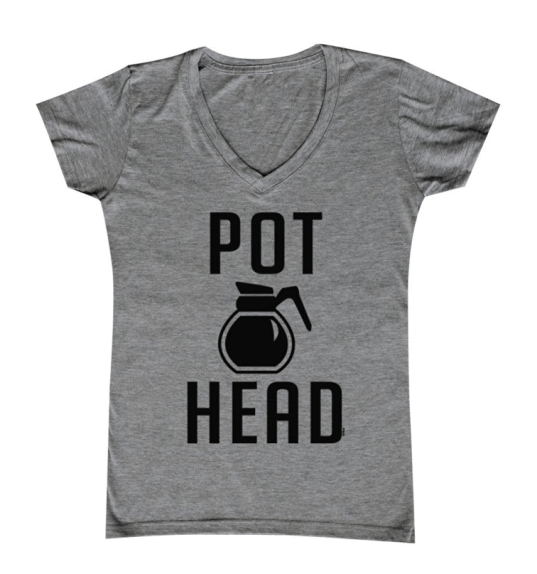 Pot Head Women's V-neck