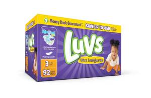 Save $2 on Luvs Diapers (coupon inside!) #SharetheLuv #ad