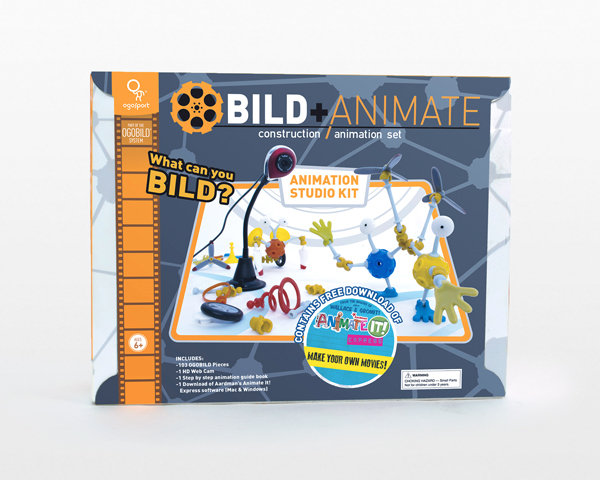 OGOBILD with AnimateIt! - Studio Kit (w/ camera)