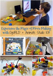 Experience the Magic of Movie Making with OgoBILD + Animate Studio Kit!