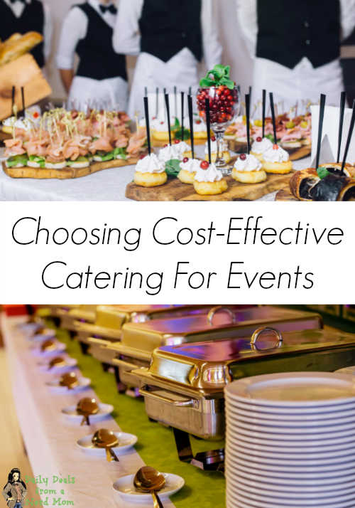 Choosing Cost-Effective Catering For Events
