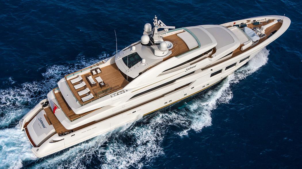 CRN Yacht Saramour