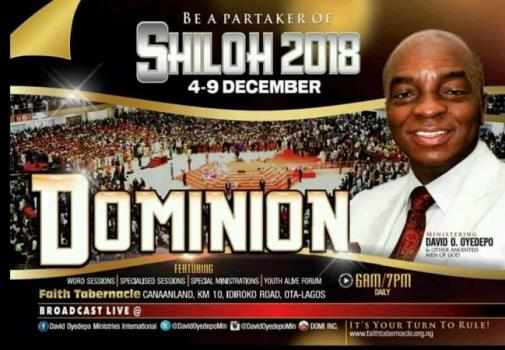 Watch Live Broadcast Shiloh 2018 December 4 Dominion - Day 1, Watch Live Broadcast Shiloh 2018 December 4 Dominion – Day 1