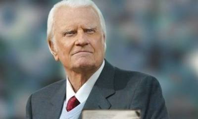 , Billy Graham Devotions 1st November 2019 – Triumph in Affliction